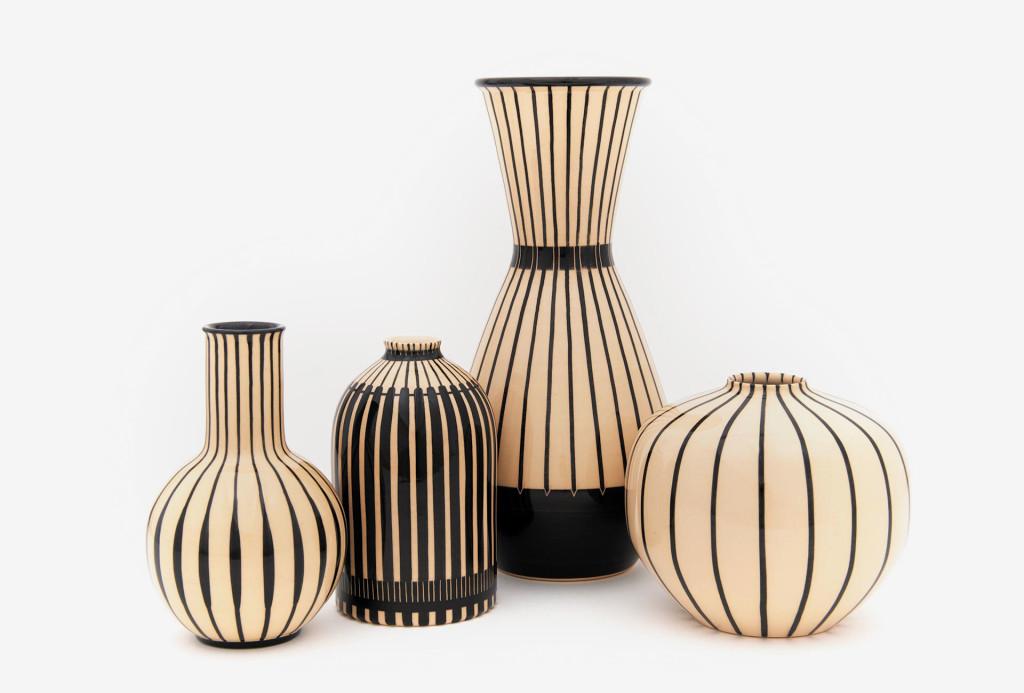 Vasen aus den HB Werkstätten für Keramik
