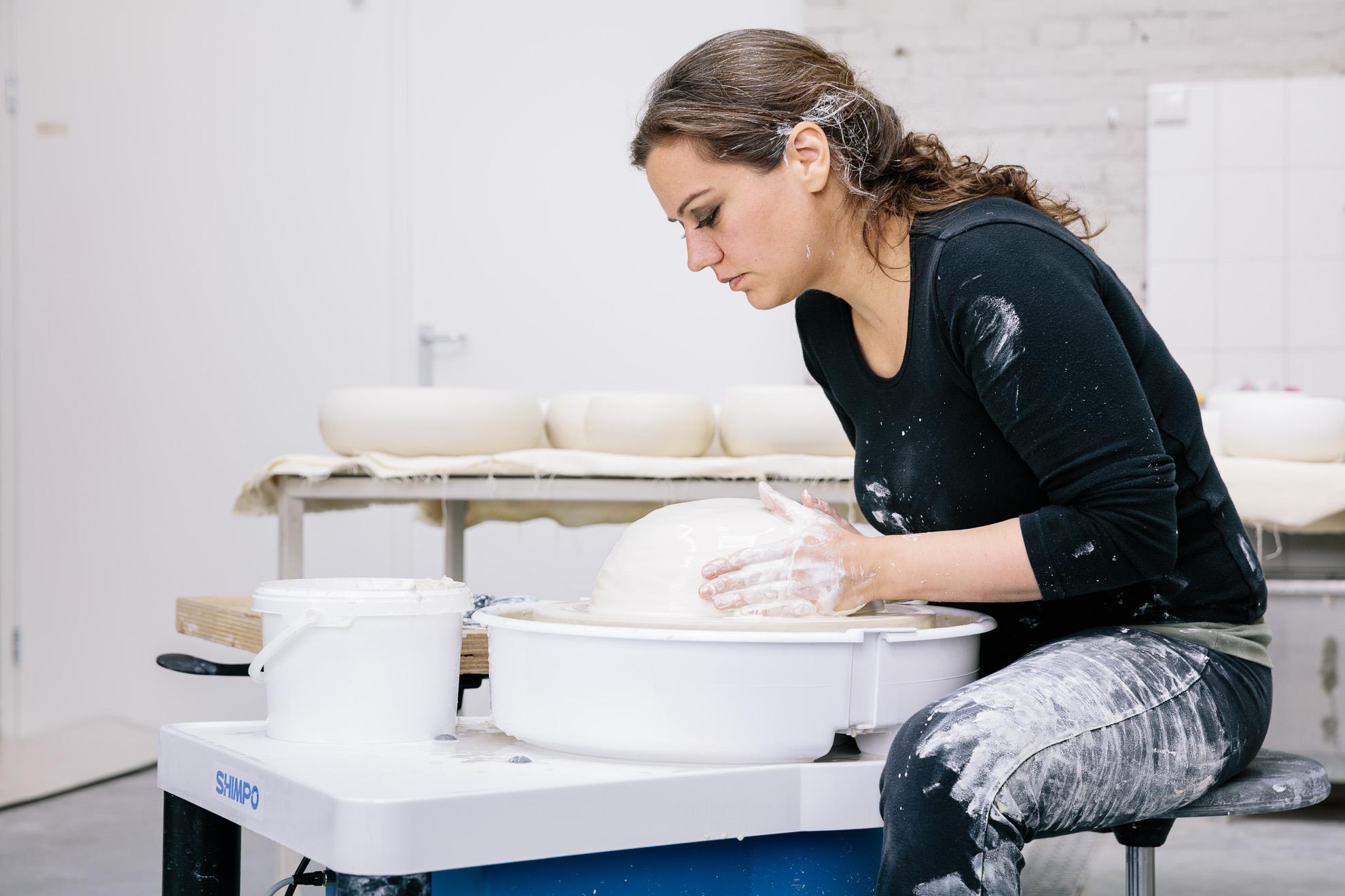 Ipek Kotan, ceramist, artist
