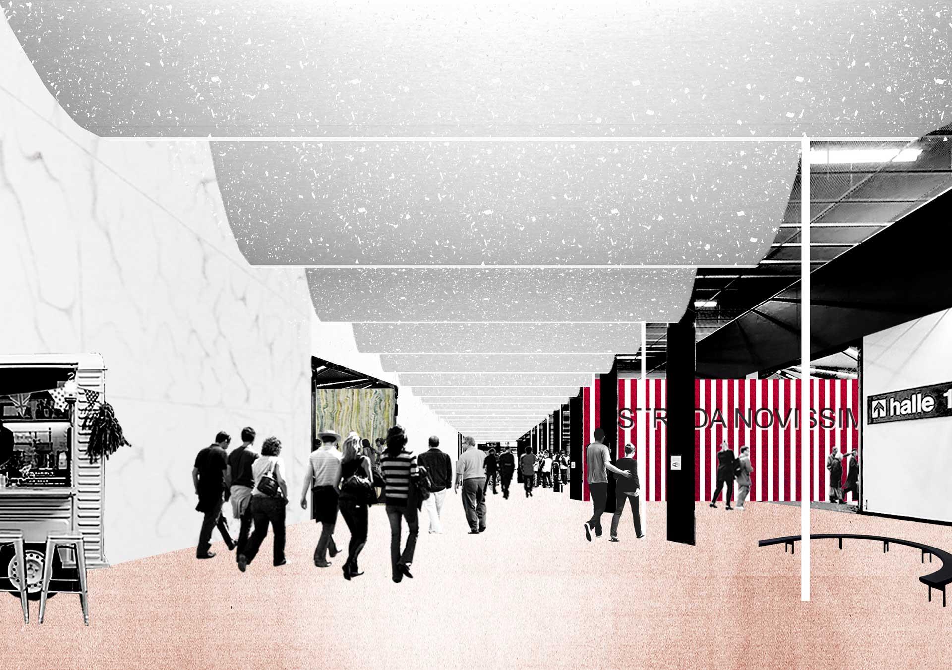 Biennale Interieur 2016, Kortrijk, Entwurf Office kgdvs