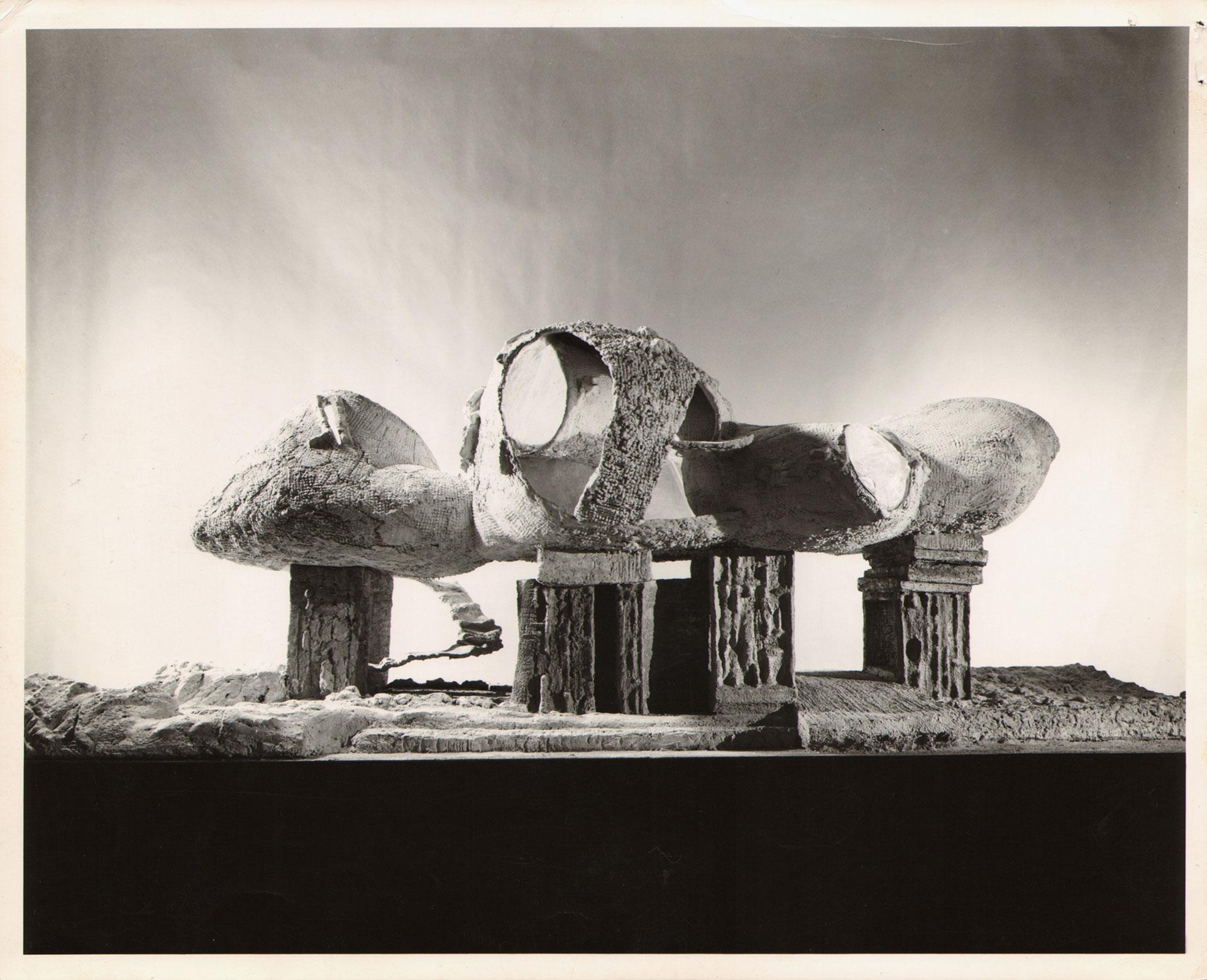 Friedrich Kiesler, Modell für ein Endless House