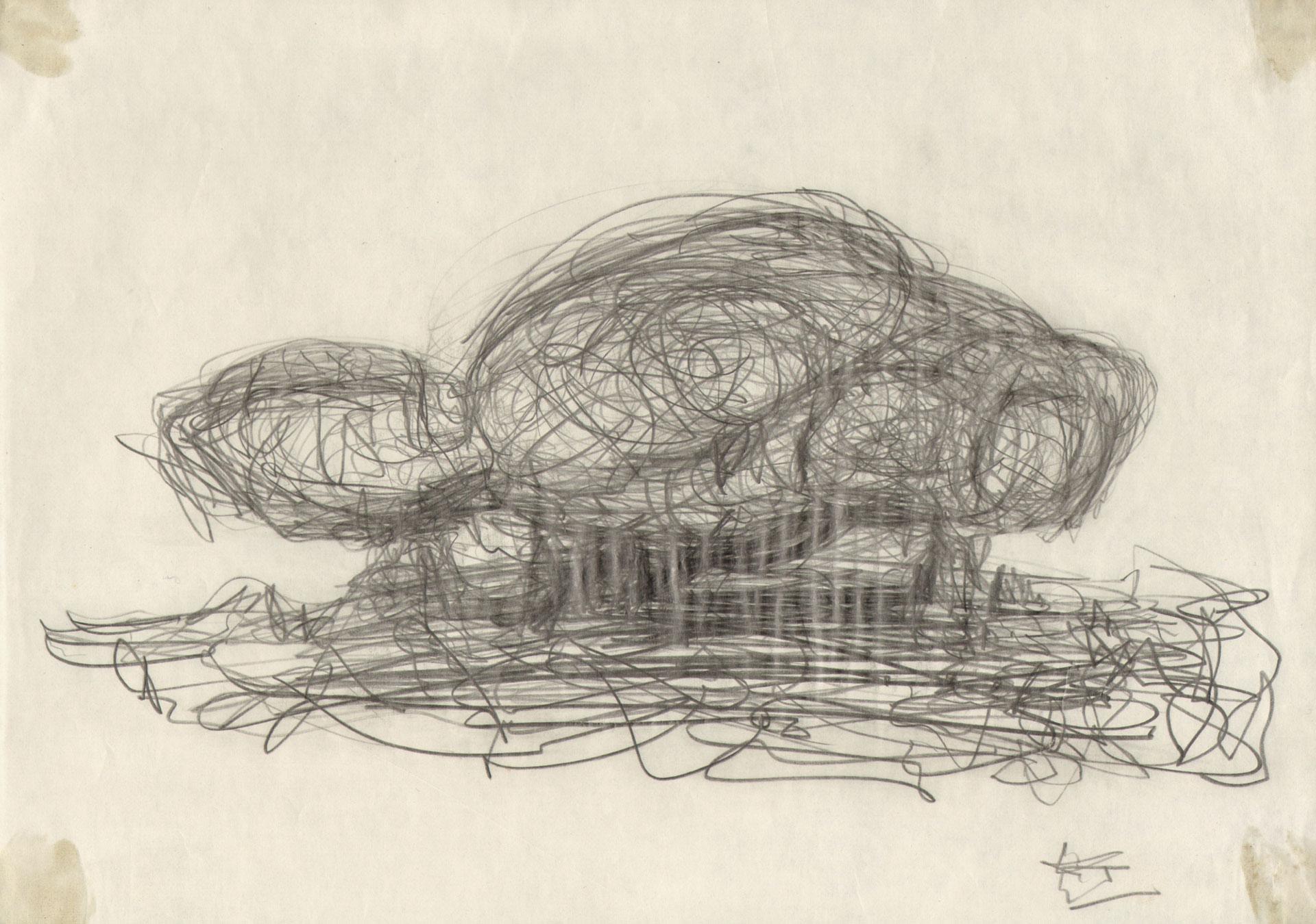 Friedrich Kiesler, Studie eines Endless House