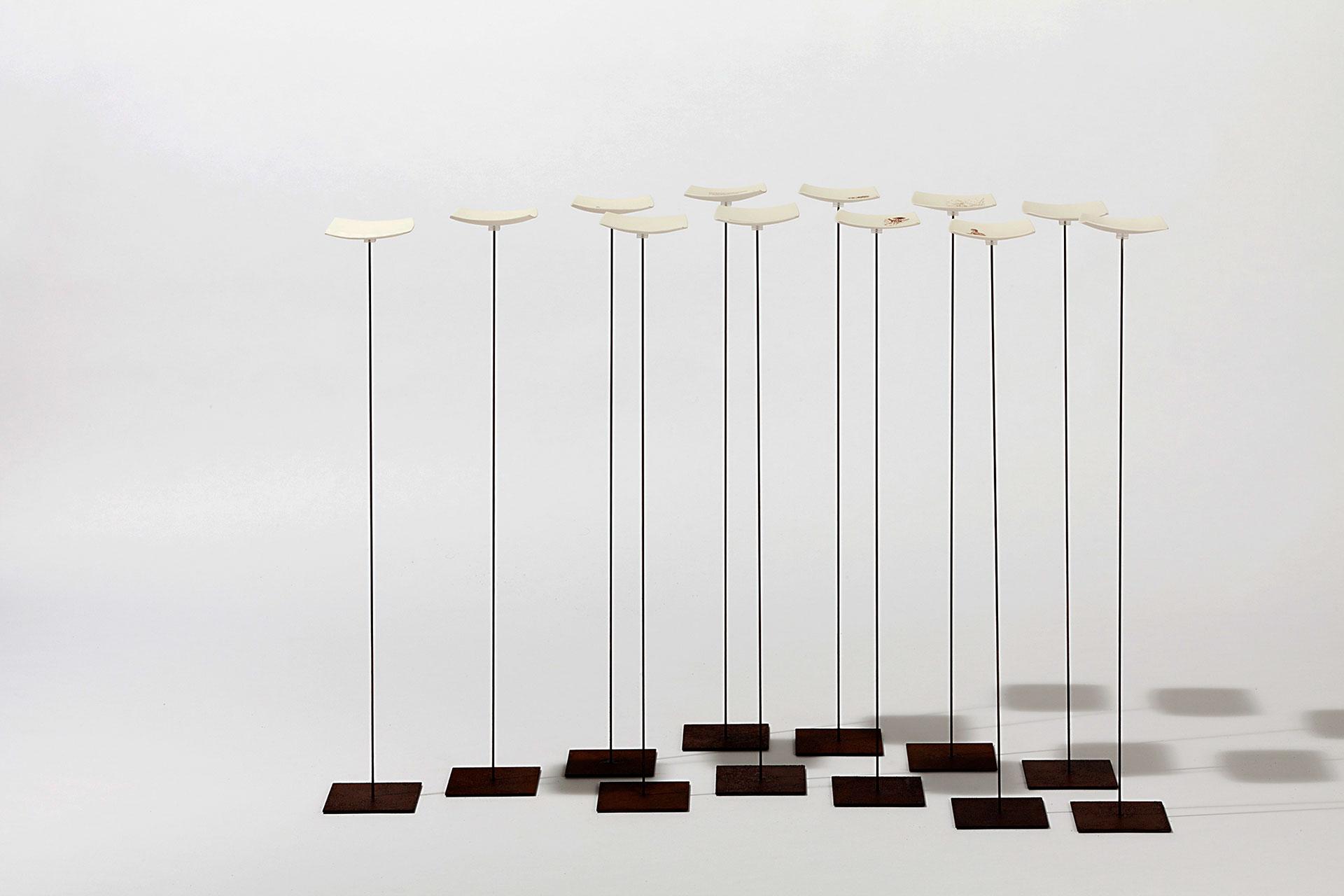 Kirsten Diez-Reinbeck, Installation, Porzellan, manu factum