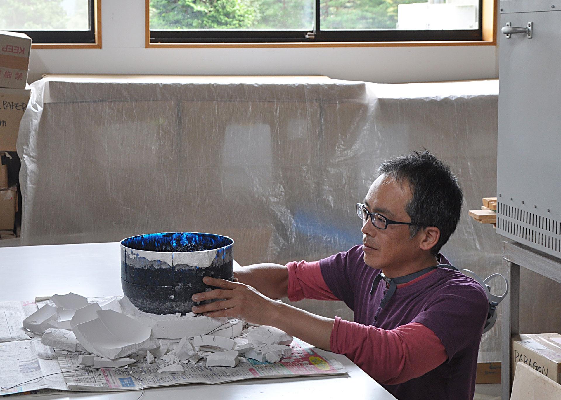 Loewe Craft Prize, Yoshiaki Kojiro, Glaskunst, Glasdesign, Glas