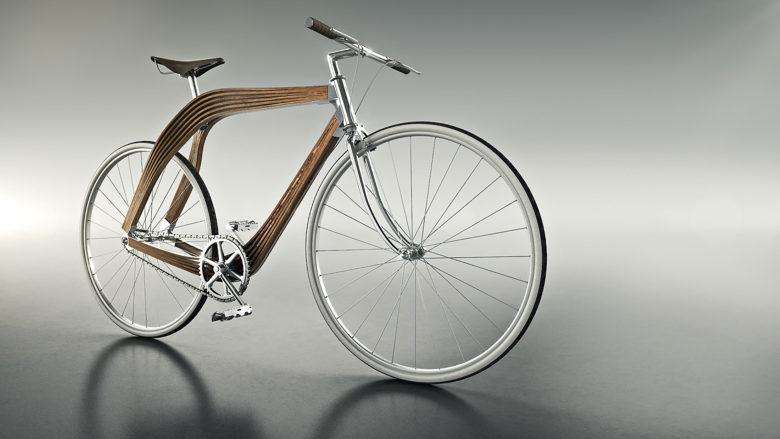 AERO Bicycle, Holzrahmen, Fahrrad