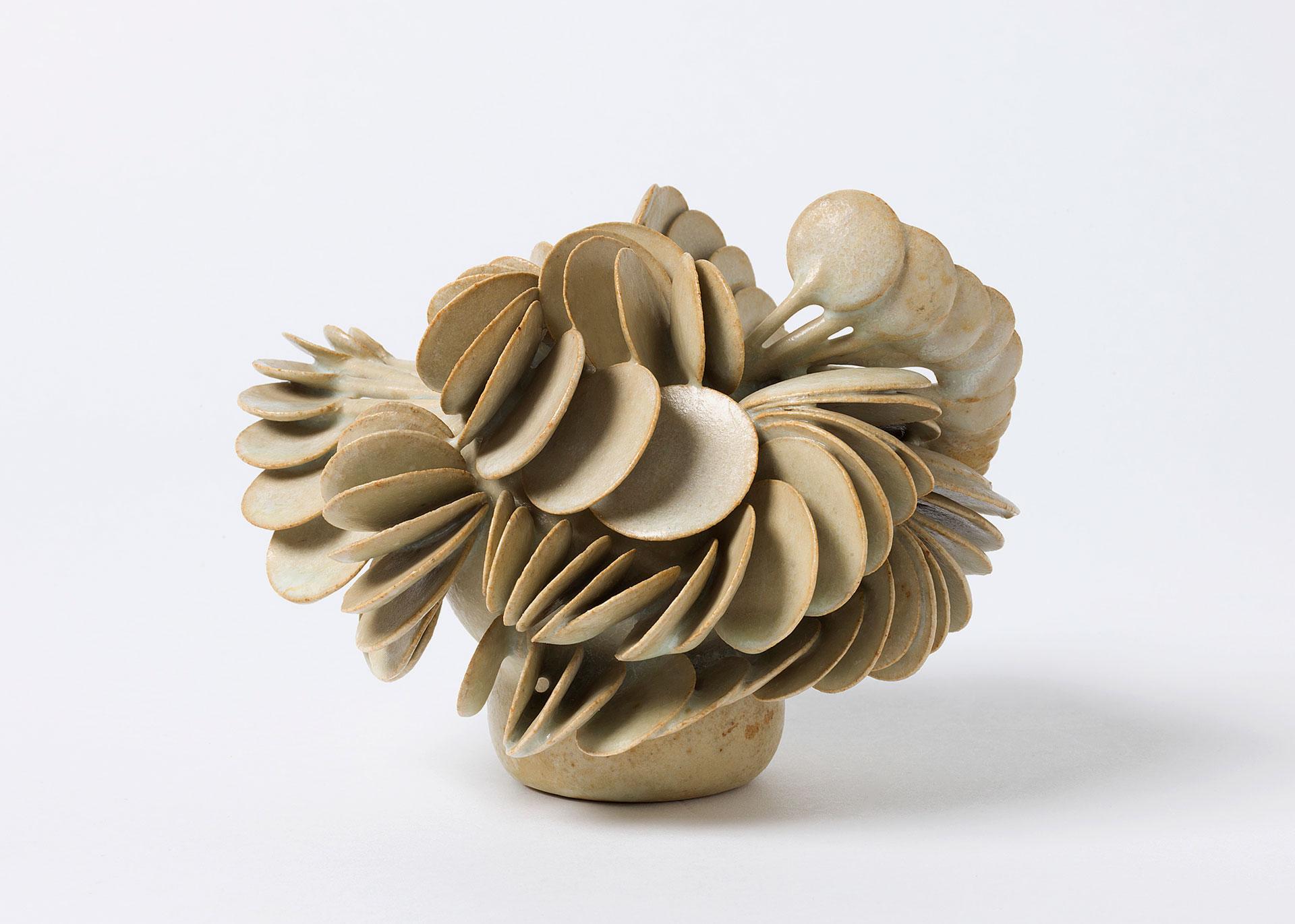Beate Kuhn, Löffelobjekt, Steinzeug, Keramik