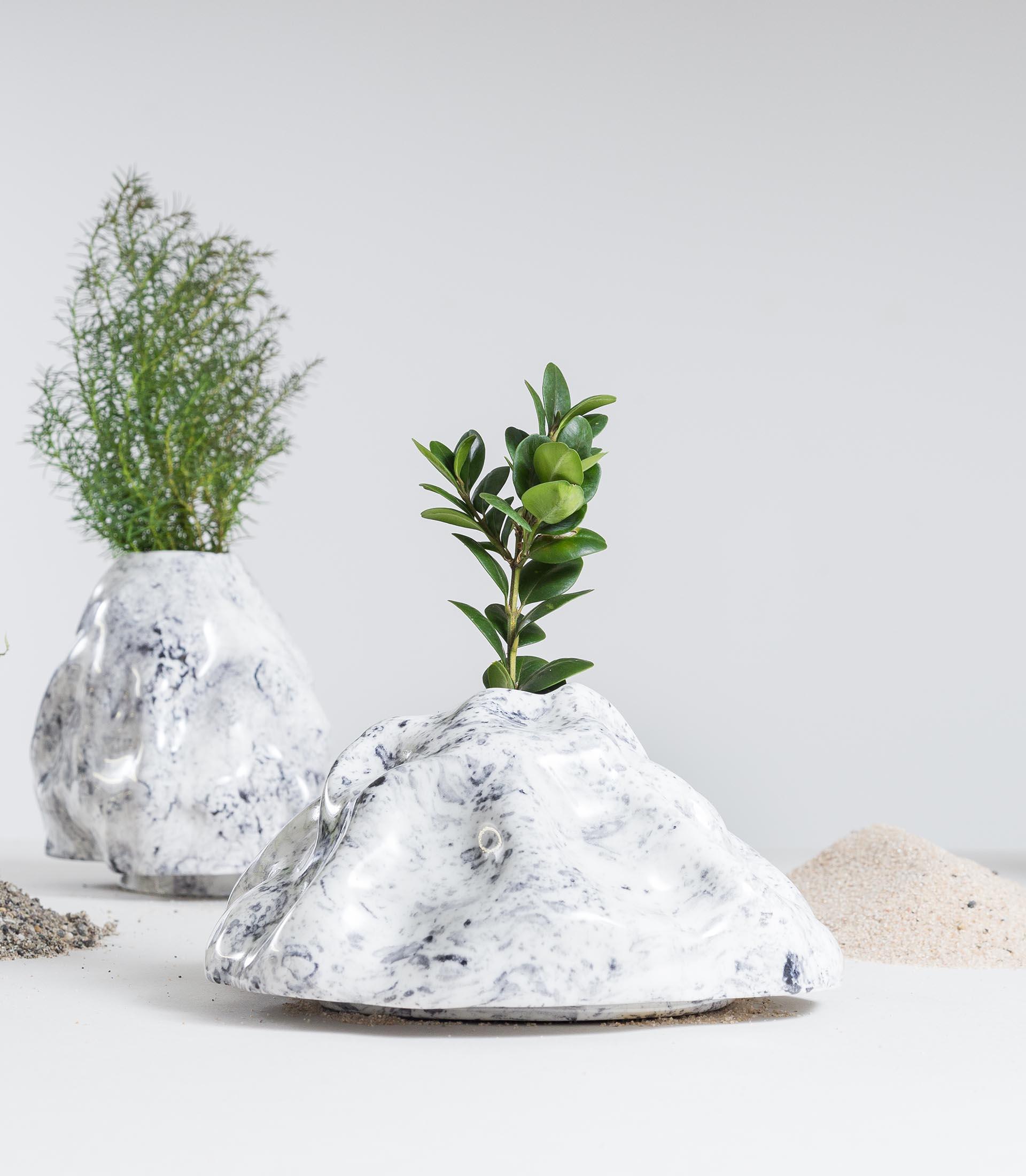 Tresor Basel, Laurin Schaub, Bushes and Trees, Porzellan
