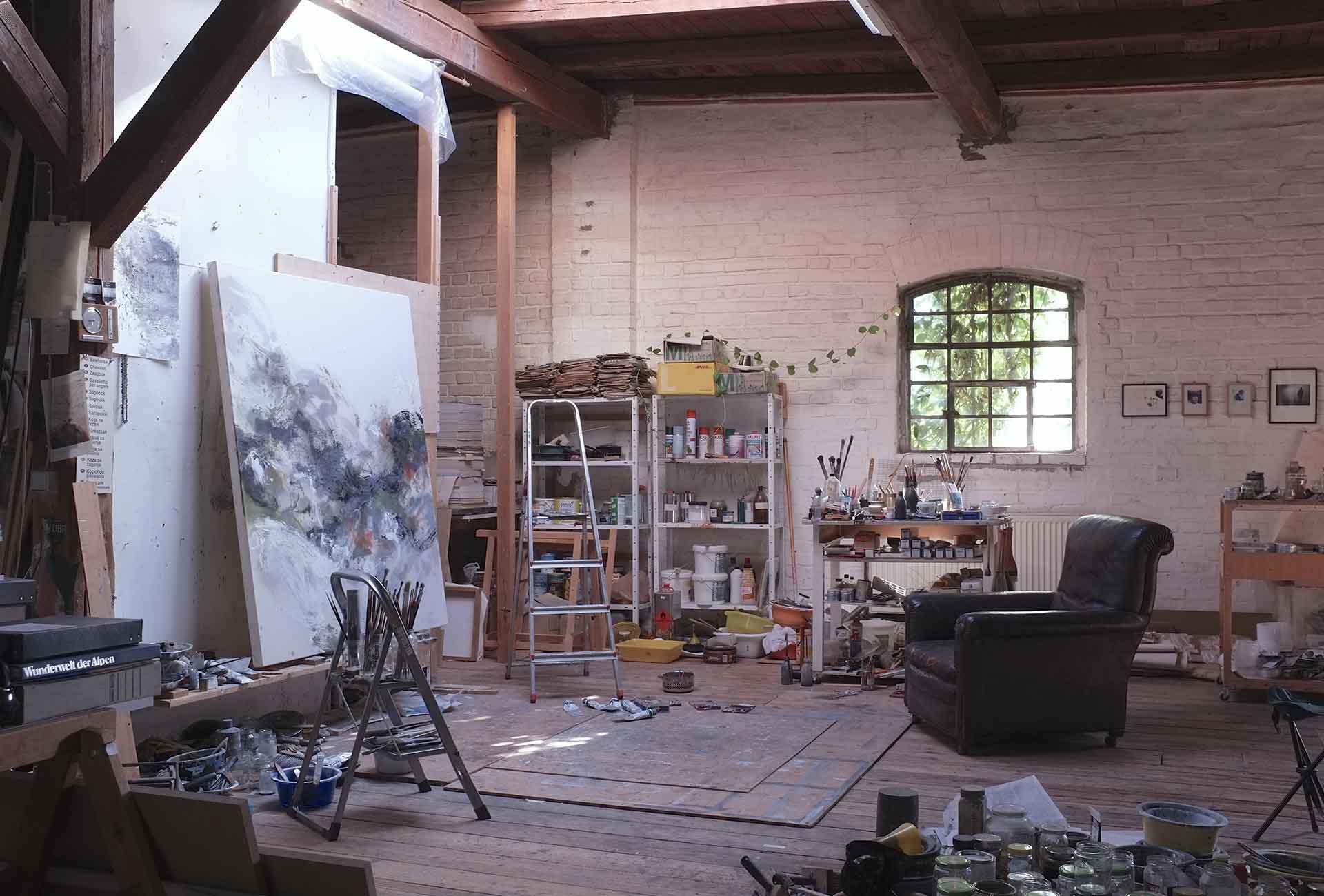 W. Jo Brunner, Atelier