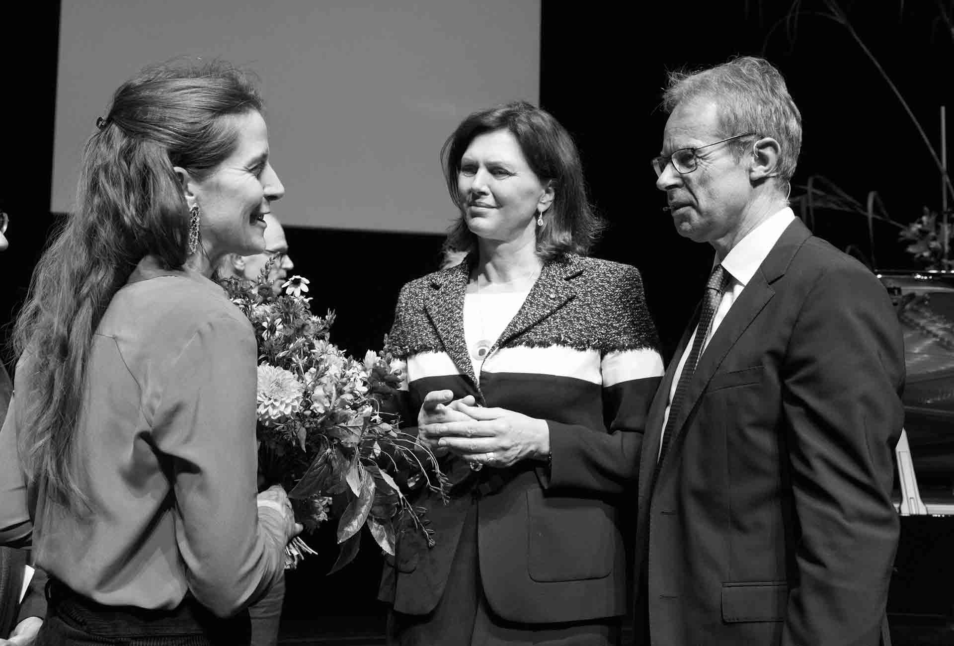 Danner-Stiftung, Ilse-Aigner, Barbara-Schrobenhauser, Gert-Bruckner_Danner-Stiftung, Photo-Eva-Jünger