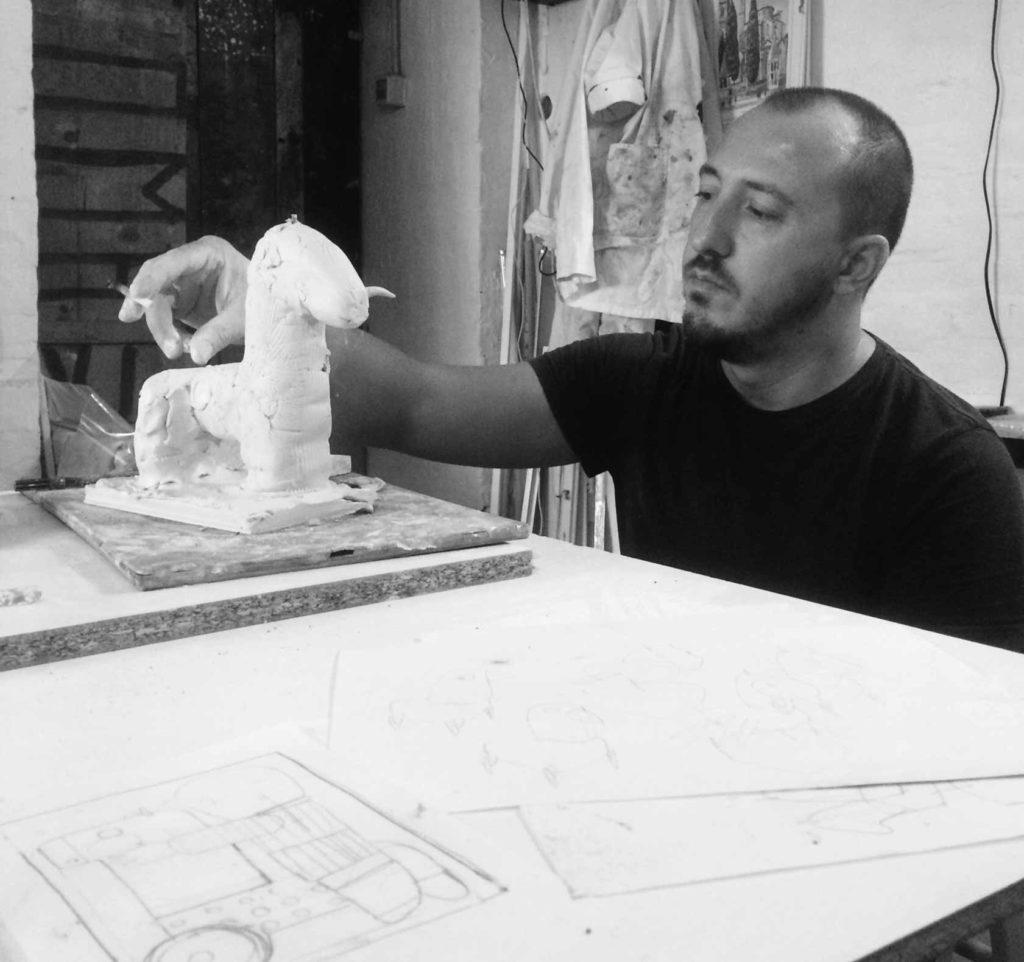 Luca Lanzi, Stiftung Keramion