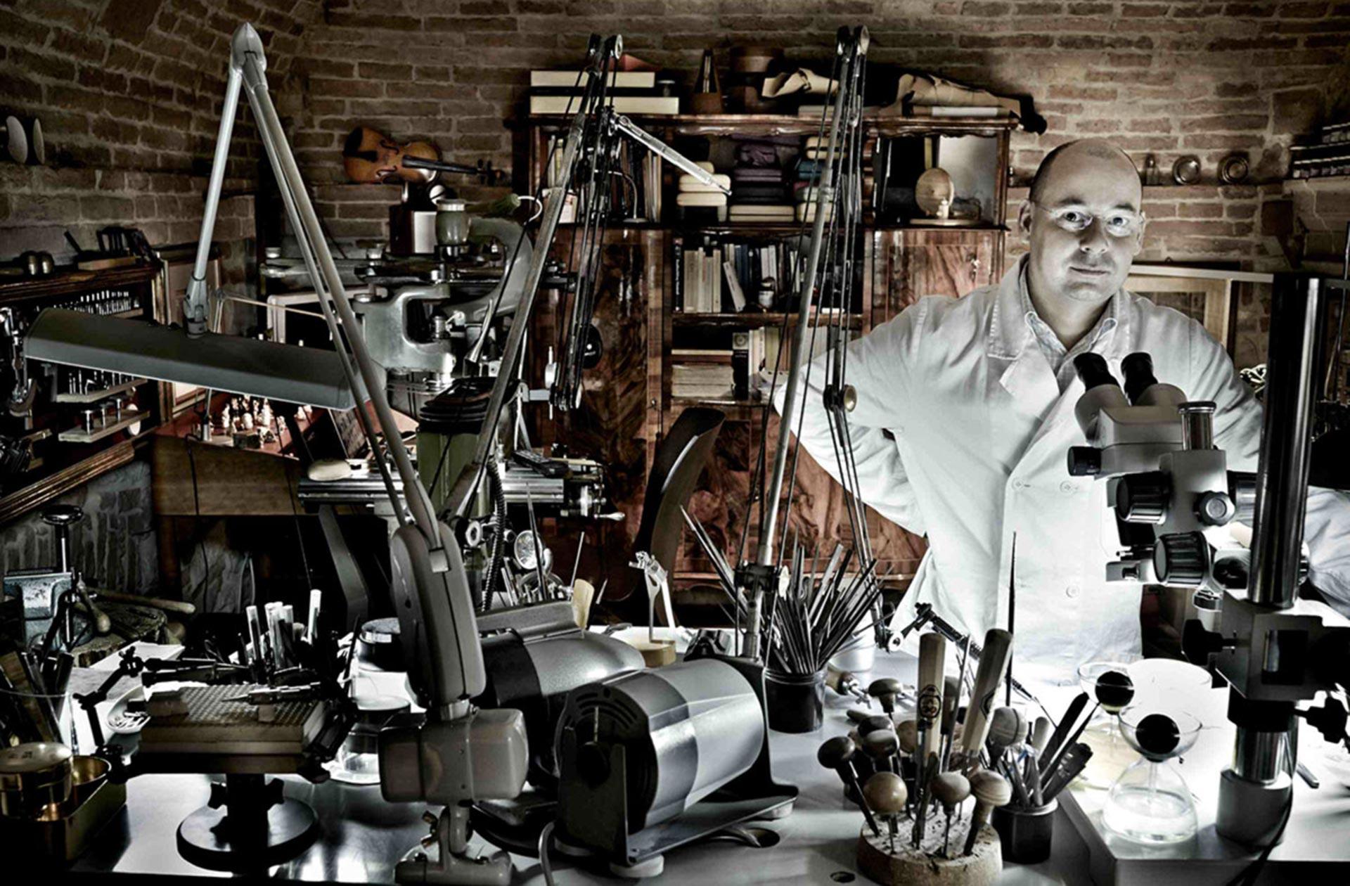 """Gold ist meine Obsession,"" sagt Giovanni Corvaja"