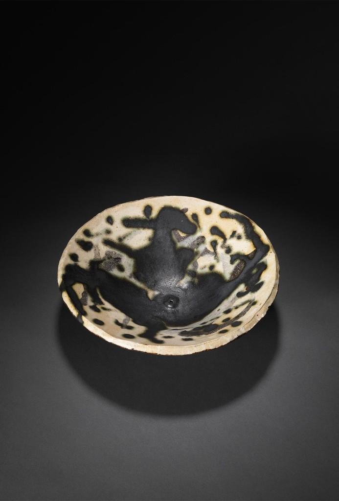 Schale mit Ammonit-Abdruck
