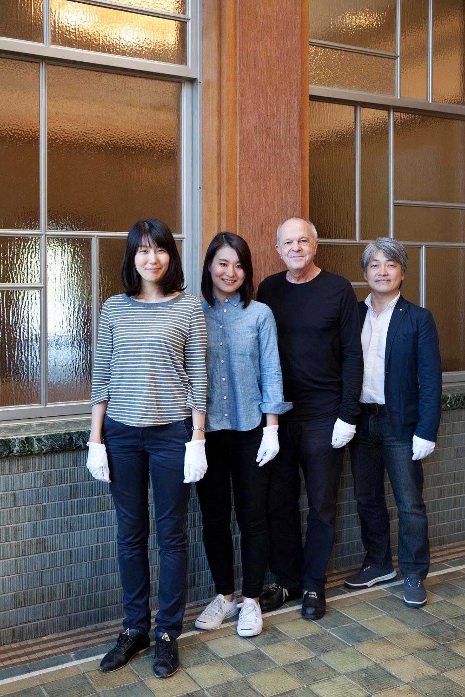 Otto Künzli in Japan