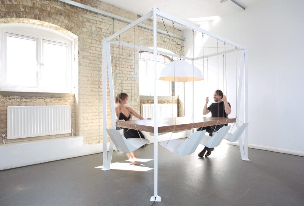 Swing Table von Christopher Duffy, Art Aurea 27 Gute Dinge