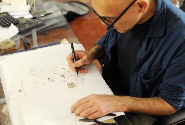 Gigi Mariani, Artist, Goldsmith, Atelier in Modena