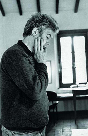 The artist Manfred Bischoff