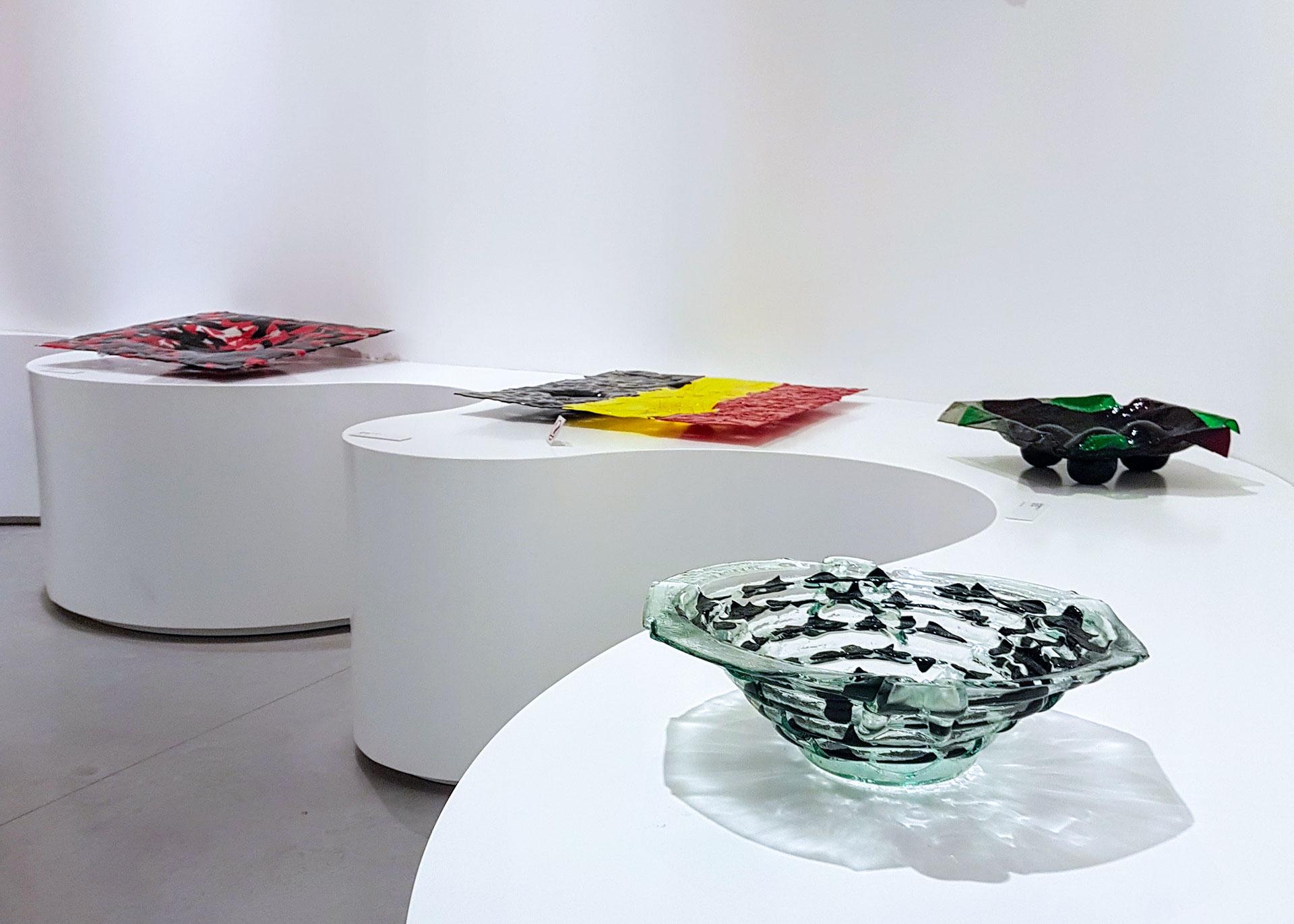 Gaetano Pesce, Biennale Venedig, Ausstellung, Glas, Glasobjekte, experimentelle Glaskunst, Murano
