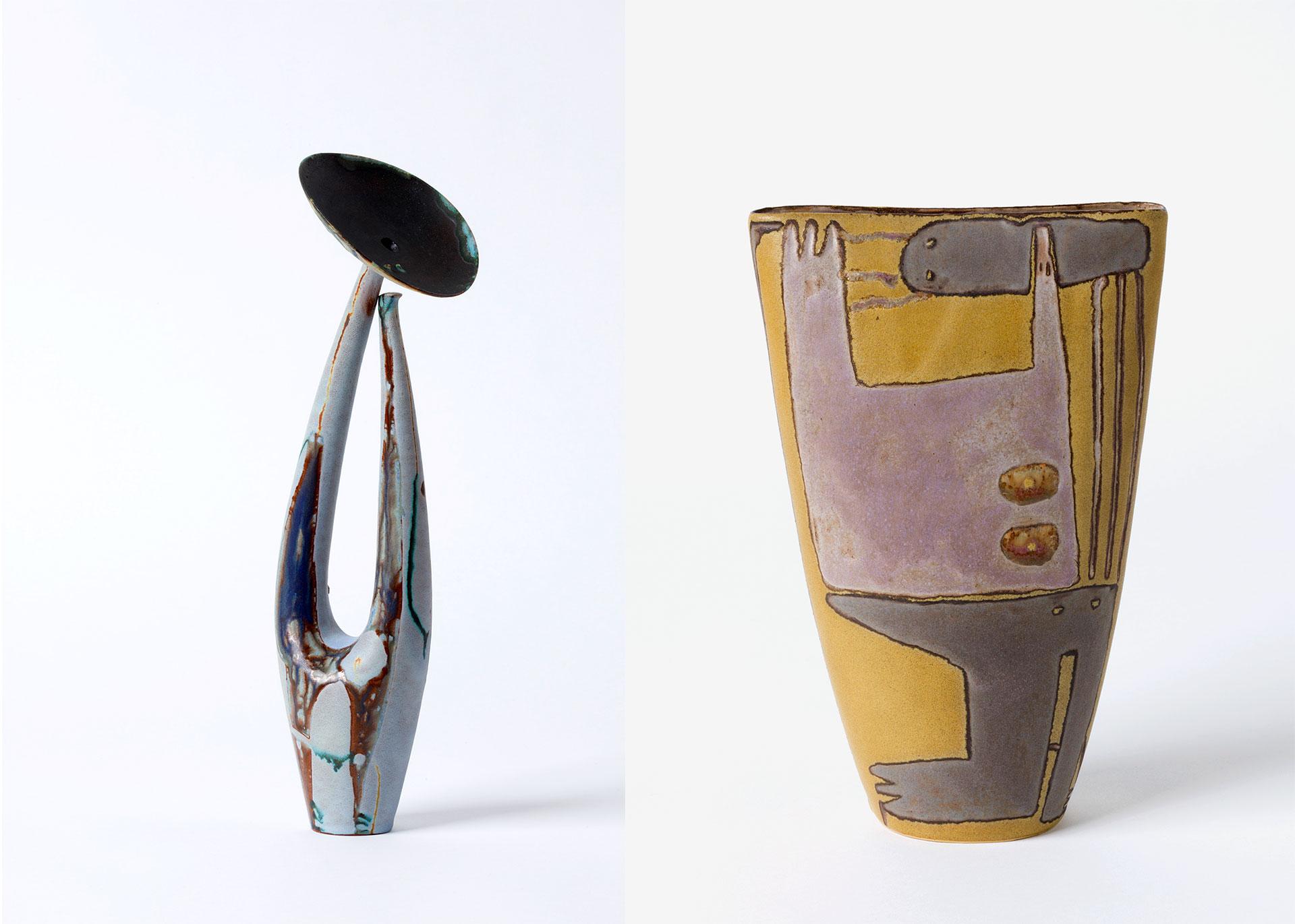 Beate Kuhn, Vase, Keramik, Steinzeug, Die Nachdenkliche