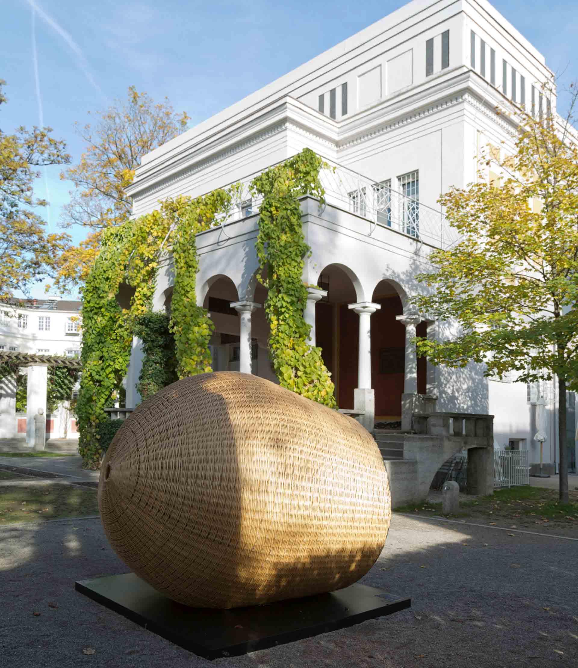 Villa-Stuck, Flechter-Ei, Emmanuel Heringer, Dannerpreis